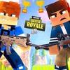 #NerdOut - The Fortnite Rap Battle ( Minecraft Parody )