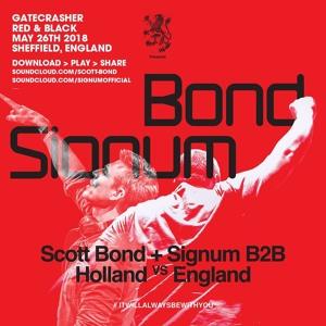 Scott Bond & Signum @ Gatecrasher Red & Black, Area Sheffield 2018-05-26 Artwork