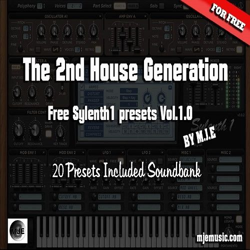The Second House Generation Vol.1 ( Sylenth1 Soundbank )FREE DOWNLOAD