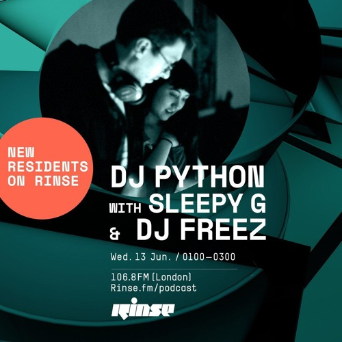 DJ Python with Sleepy G and DJ Freez - 13th June 2018