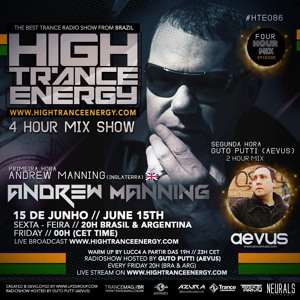 Guto Putti (Aevus) & Andrew Manning - High Trance Energy 086 2018-06-15 Artwork