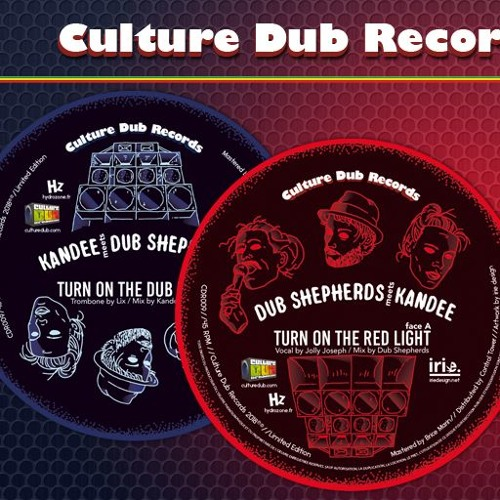 "Kandee meets Dub Shepherds feat. Lix - 7"" Culture Dub Records CDR009"