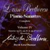 L. van Beethoven Complete Piano Sonatas. Vol.IV