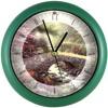 Thomas Kinkade Bridge Of Faith Wall Clock