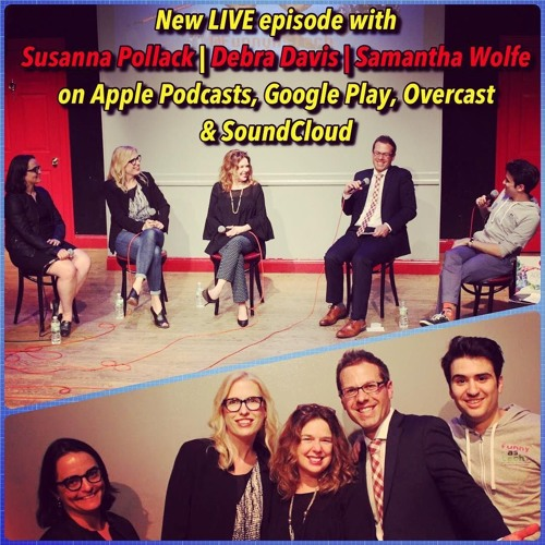 Ep28: Altered Reality: AR, VR, & XR! LIVE show with Susanna Pollack, Debra Davis & Samantha Wolfe