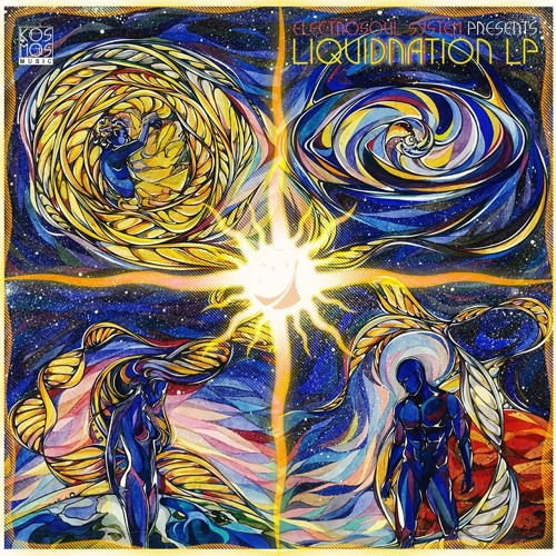 "KOSMOS075LP V/A ""Electrosoul System presents LiquiDNAtion LP"" Part 1 & 2 (Preview Mini-mix)"