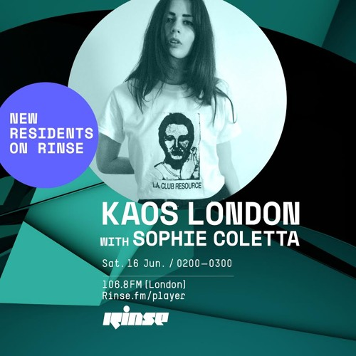 Kaos London with Sophie Coletta - 16th June 2018