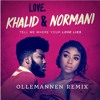 Khalid ft. Normani - Love Lies (ollemannen remix)