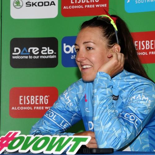 Interview - Dani Rowe - Best British Rider - OVO Women's Tour 2018