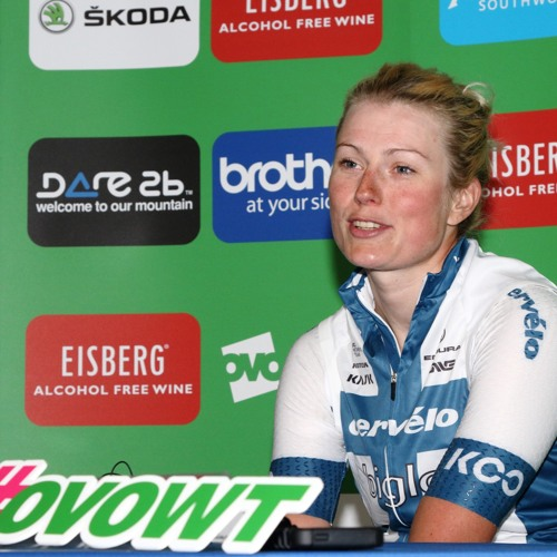 Interview - Lotte Lepisto - Stage 5 Winner - OVO Women's Tour 2018