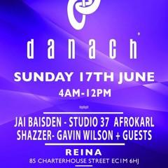 'Studio 37' | Live At 'Danach' @ Club Reina (Radunos) | 17/06/18 | 6:00am-7:00am