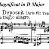 Bach Magnificat BWV 243 Deposuit potentes de sede et exaltavit humiles.