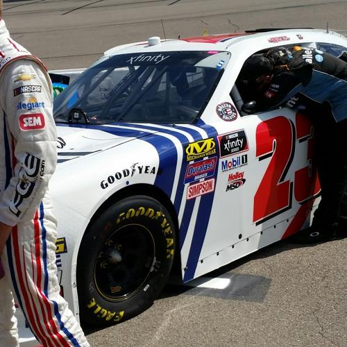 Justin Haley at Iowa Speedway