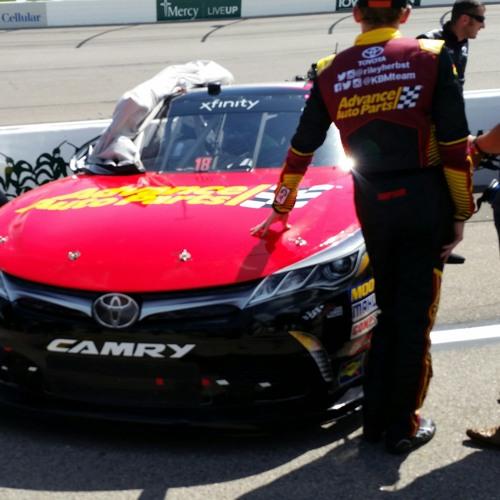 Riley Herbst at Iowa Speedway