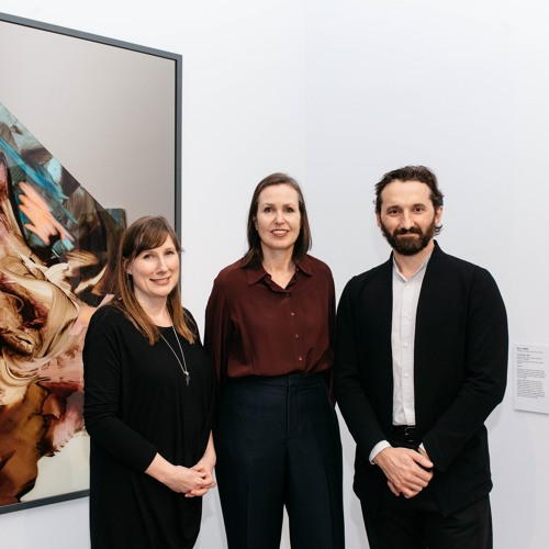 2018 Geelong contemporary art prize—Jason Smith, Justin Paton, Rebecca Coates and Lisa Sullivan
