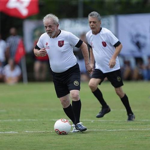 Lula estreia como comentarista esportivo no programa do Trajano