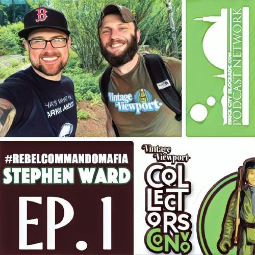 Collectors Convo with Stephen Ward | Rebel Commando Mafia