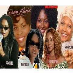 90's Reggae Lovers Rock Mix – Queens Of Reggae Marcia Griffiths,Pam Hall,Twiggi,Nana Mclean,Nadine