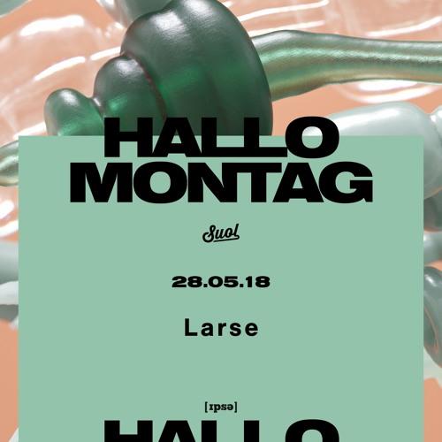 Larse @ Hallo Montag Open Air #05 (28.05.2018)