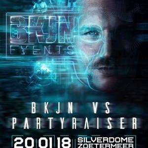 Partyraiser @ BKJN vs. Partyraiser Winter Festival - 25 Years Partyraiser 2018-06-19 Artwork