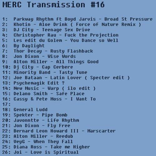 MERC Transmission #16