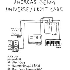 Andreas Gehm - I Don't Care