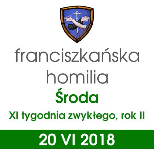 Homilia: środa XI tygodnia - 20 VI 2018