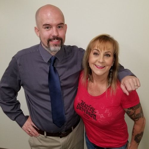 April Skye & Noah Whitaker of the Tulare Kings County Suicide Prevention Task Force, June 17, 2018