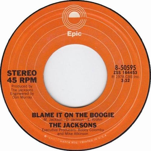 J a c k s o n s - B l a m e It On DA Boogie (Uncle Jam's 12 Inch DISKO Regroove)