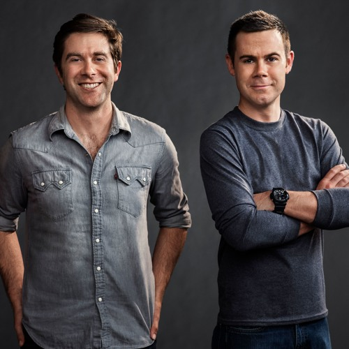 """""""Halt And Catch Fire"""" Creators Christopher Cantwell and Christopher C. Rogers,"""