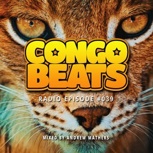Andrew Mathers - Congo Beats Radio 39 2018-06-21 Artwork