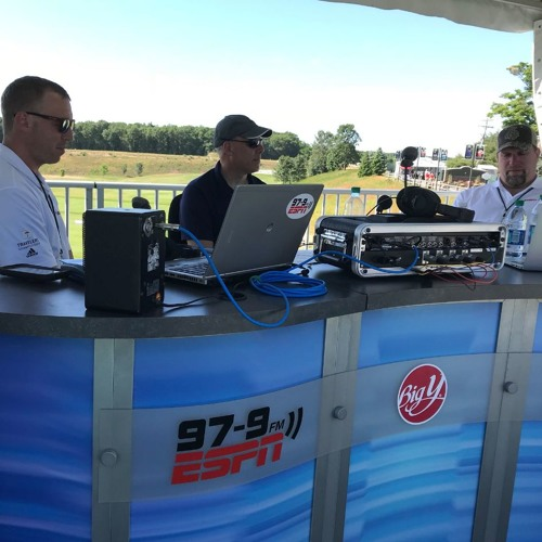 Kelser covers the tech behind the Travelers Championship with The Rob Dibble Show on 97.9 FM ESPN