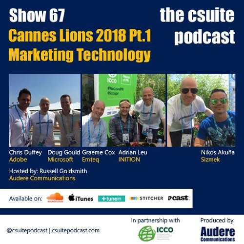 Show 67 - Cannes Lions 2018 Pt.1 - Marketing Technology