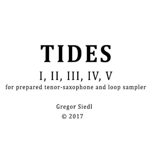 Tides I, II, III, IV, V