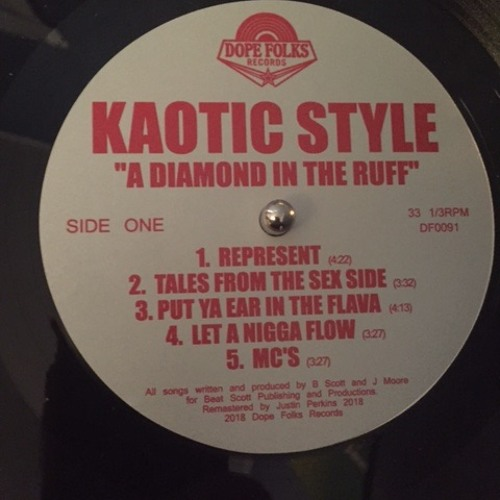 DF0091 - Kaotic Style - Hip Hop Jazz - Diamond in The Ruff LP Coming Soon