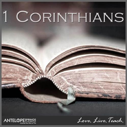 1 Corinthians: Gray Areas