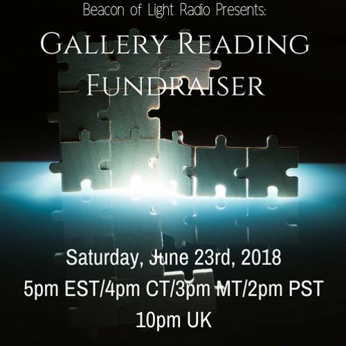 BOLR Gallery Reading Fundraiser Mental Health Awareness 6.23.2018