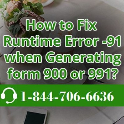 Contact 1844 - 706 - 6636 For QuickBooks Runtime Error On