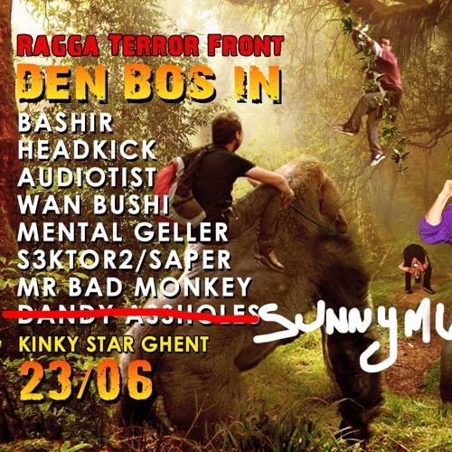 Headkick - Live @ Ragga Terror Front Den Bos In! (Kinkystar Gent 23/06/18)