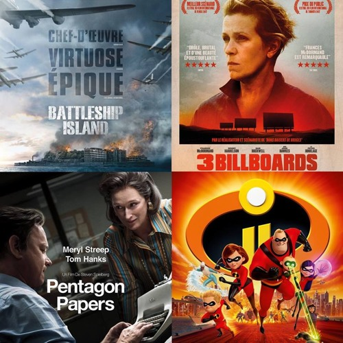 #15 BATTLESHIP ISLAND, 3 BILLBOARDS, PENTAGON PAPERS et LES INDESTRUCTIBLES 2 : Top of the TOPS !