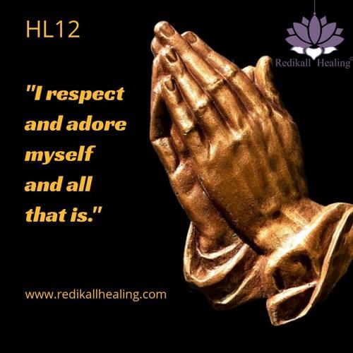 HL12 Left Respect Chakra.