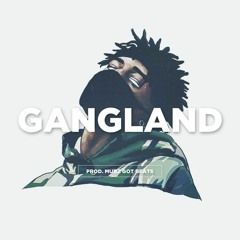 "FREE Desiigner Type Beat - ""Gangland"" Feat Travis Scott x Scarlxrd Instrumental   Type Beat 2018"