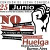Huelga Buenos Aires del 25/05/2018, unión de Sindicatos.
