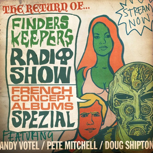 Finders Keepers Radio -  French Concept Album Special