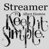 Streamer Ft. Albert Einstein_The best thing would be to keep it simple (free download)