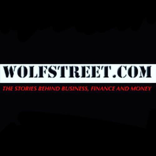 Wolf Richter is: WOLFSTREET - a vicious WallStreet carnivor