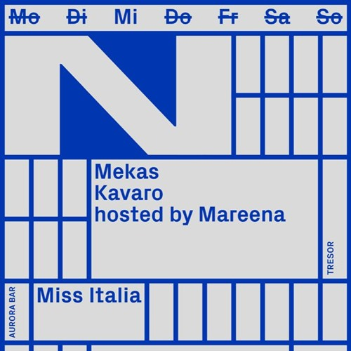Aula Magna Podcast 19 - Mekas @ Tresor (New Faces)
