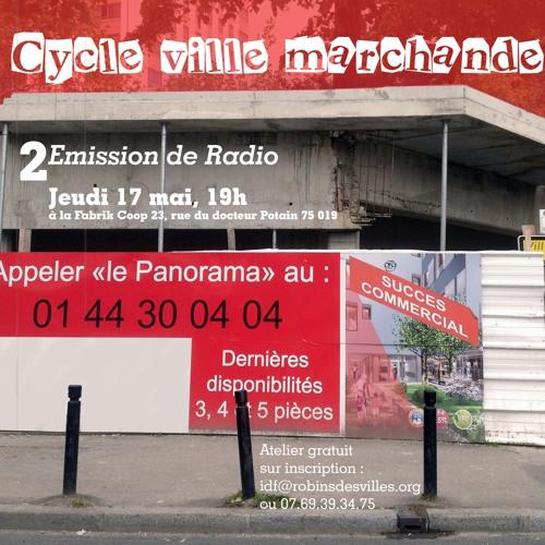 """Emission """"Des villes et des ailes"""" - Le marketing territorial"""