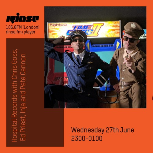 Hospital Records with Chris Goss, Ed Priest, Inja & Pete Cannon - 27th June 2018