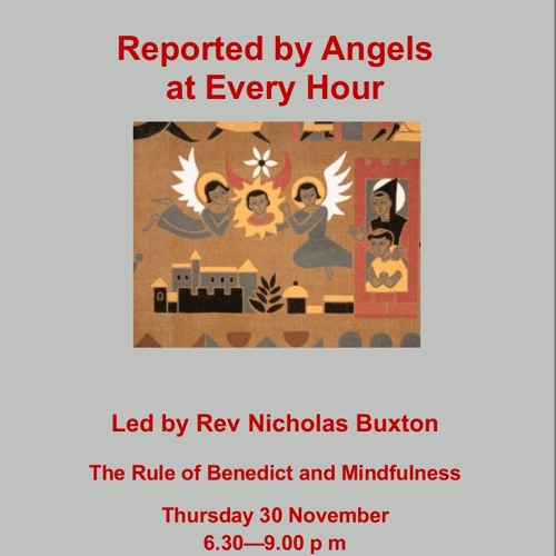 Reported By Angels At Every Hour. Nicholas Buxton